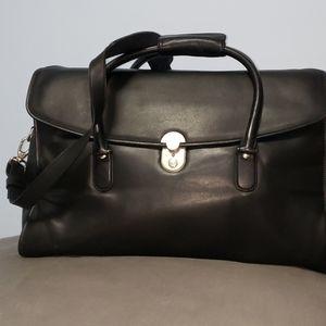 Levenger leather bag.